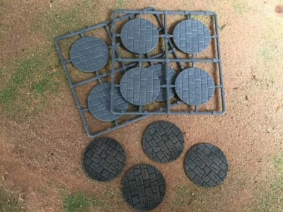 50mm Paved Effect Bases (8)
