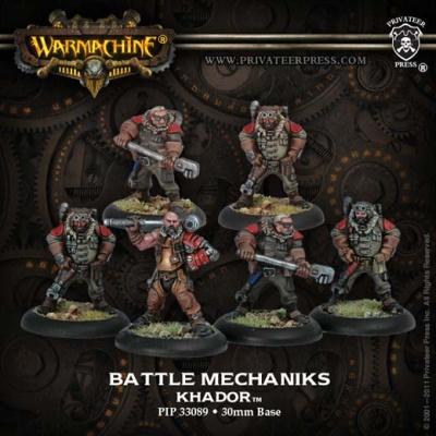 Khador Battle Mechaniks (6)