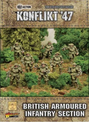 British Armoured Infantry Section (8)