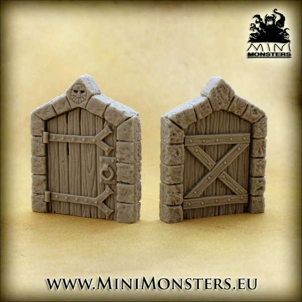 Dwarven Doors SET1