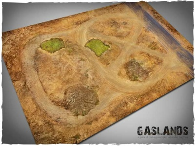 Game Mat - Gaslands 6x4