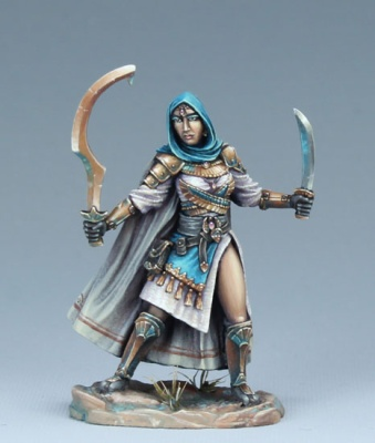Female Eastern Warrior - Dual Wield
