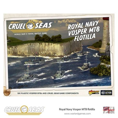 Royal Navy Vosper MTB flotilla