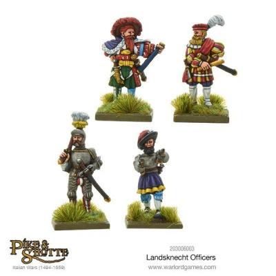 Landsknechts officers