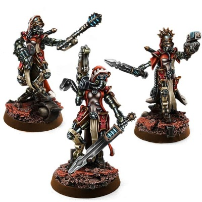 Mechanic Adept Female Sagitarius Sergeants (3)
