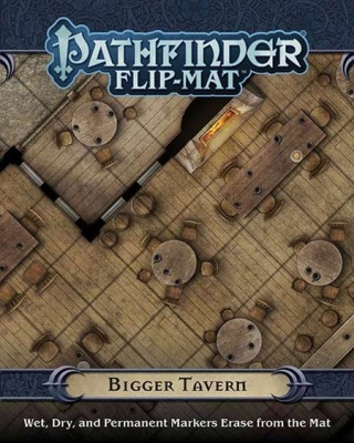 Pathfinder Flip Mat: Bigger Tavern