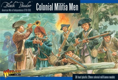Colonial Militia Men (30)