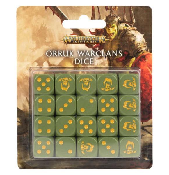 AOS: Orruk Warclans Dice Set