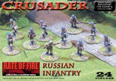 Crusader WWII: Russian Infantry Box Set
