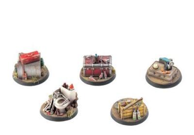 Fallout: Wasteland Warfare - : Objective Markers 1