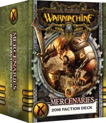 WARMACHINE Söldner 2016 Fraktionsdeck DEUTSCH