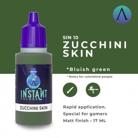 Zucchini Skin
