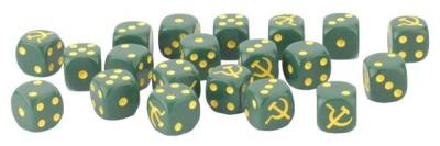 Late War Soviet Dice Set (20)
