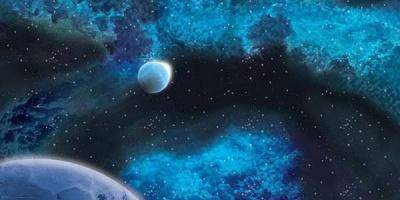 """Frozen Star System Space Mat (72"""" x 36"""")"""