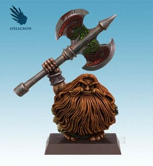 Northern Dwarf with a Great Axe