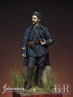 Lieutenant, French Chasseurs Alpins, Diables Bleus, 1 (75mm)