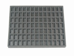 "91 Small Troop Foam Tray 1"" (15.5x12)"