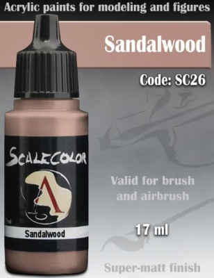 Scalecolor 26 Sandalwood (17ml)