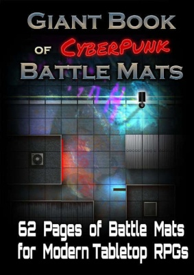 Giant Book of CyberPunk Battle Mats (A3)
