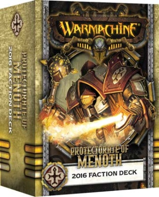 WARMACHINE Protectorate 2016 Faction Deck