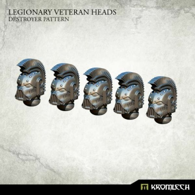 Legionary Veteran Heads: Destroyer Pattern (5)