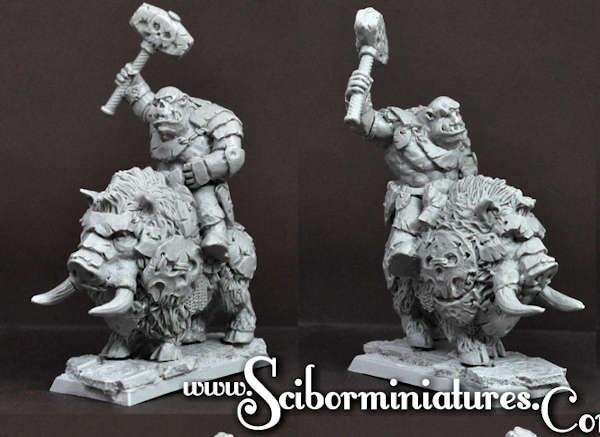 Orc Warrior on Boar #3