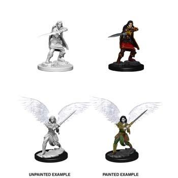 D&D: Female Aasimar Fighter (2)