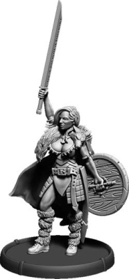 Shieldwall Joanna, Warrior-Queen of Mierce