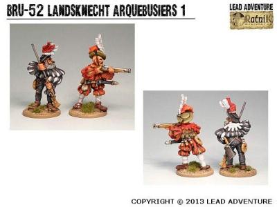 Landsknecht Arquebusiers 1 (2)