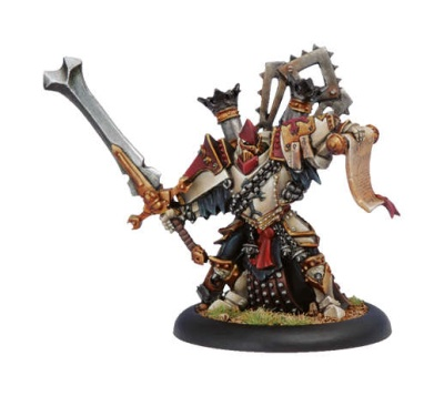 Protectorate of Menoth Warcaster High Executioner Servath Re