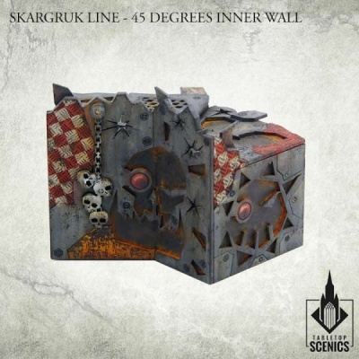 Skargruk Line - 45 degrees Inner Wall