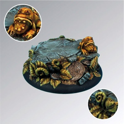 Toad in Ferns 50mm Base