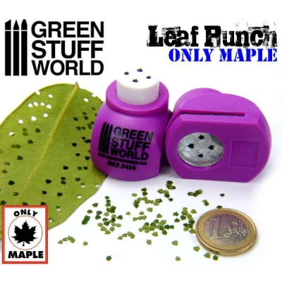 Miniature Leaf Punch MEDIUM PURPLE