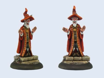 Discworld Miniature Bursar (1)