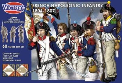 French Napoleonic Infantry 1804 - 1807