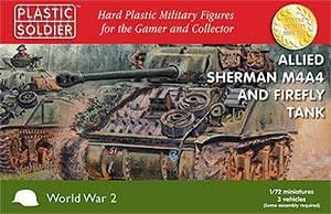 1/72nd Sherman M4A4/Firefly Tank (3)