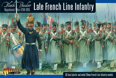 Napoleonic War Late French Line Infantry (36)