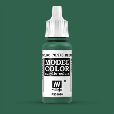Model Color 072 Waldgrün (Deep Green) (970)