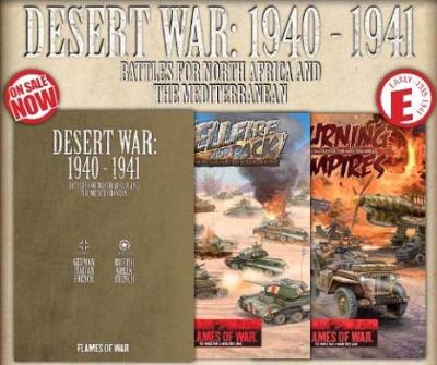 Desert War: 1940-41 (Hellfire and Back + Burning Empires)