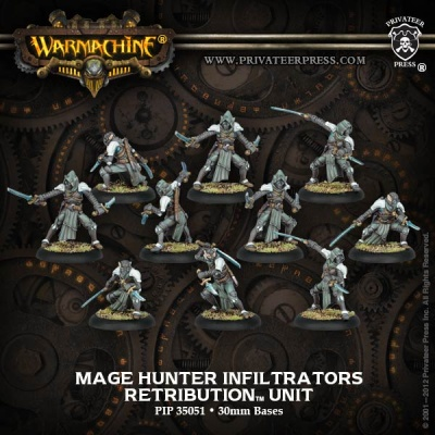 Retribution Mage Hunter Infiltrators Unit Box (10)