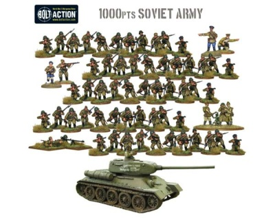 Bolt Action: Soviet Army (1000p)