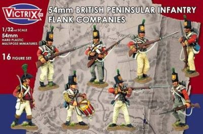 54mm British Napoleonic Peninsular Infantry (16)