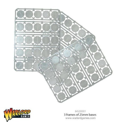 Warlord 25mm Bases (75)