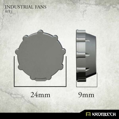 Industrial Fans Set 1 (5)