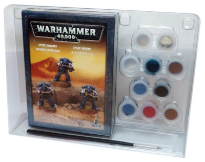 Space Marine Paintset
