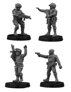 SWAT Team Commanders (4)