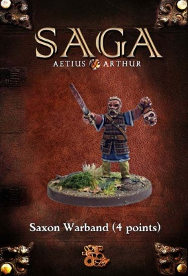 Saxon 4 point Starter Warband