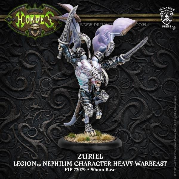 Zuriel Legion Character Nephilim Heavy Warbeast (plastic)