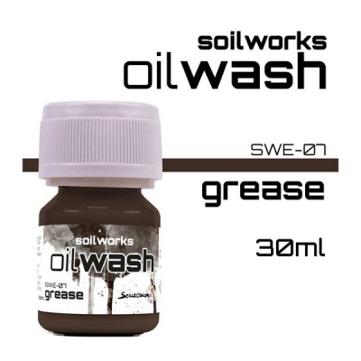 Oil Wash: Grease