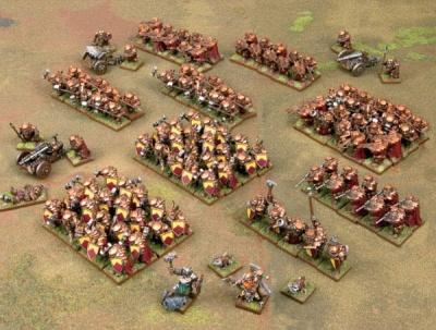 Baldr's Armoured Battalion MEGA  ARMY